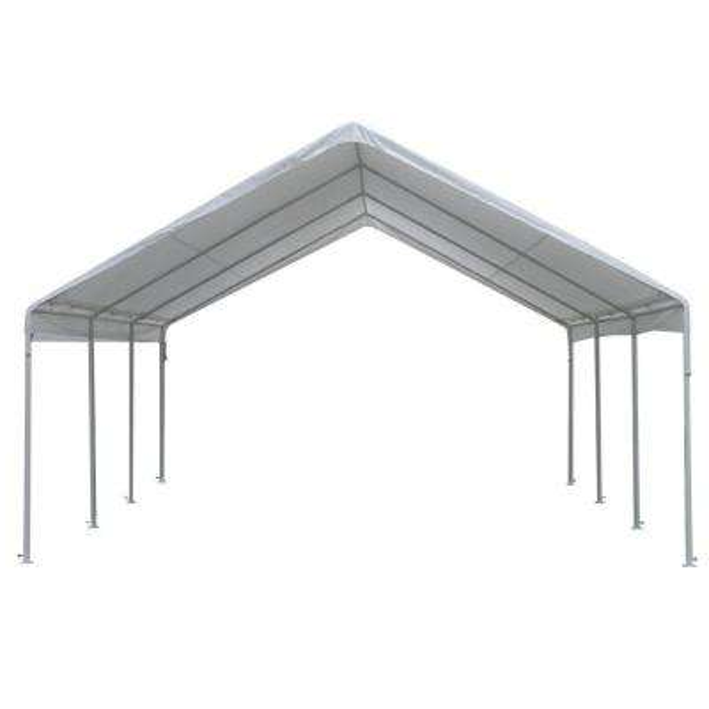 Hercules 18 ft. W x 20 ft. D Steel Frame Canopy