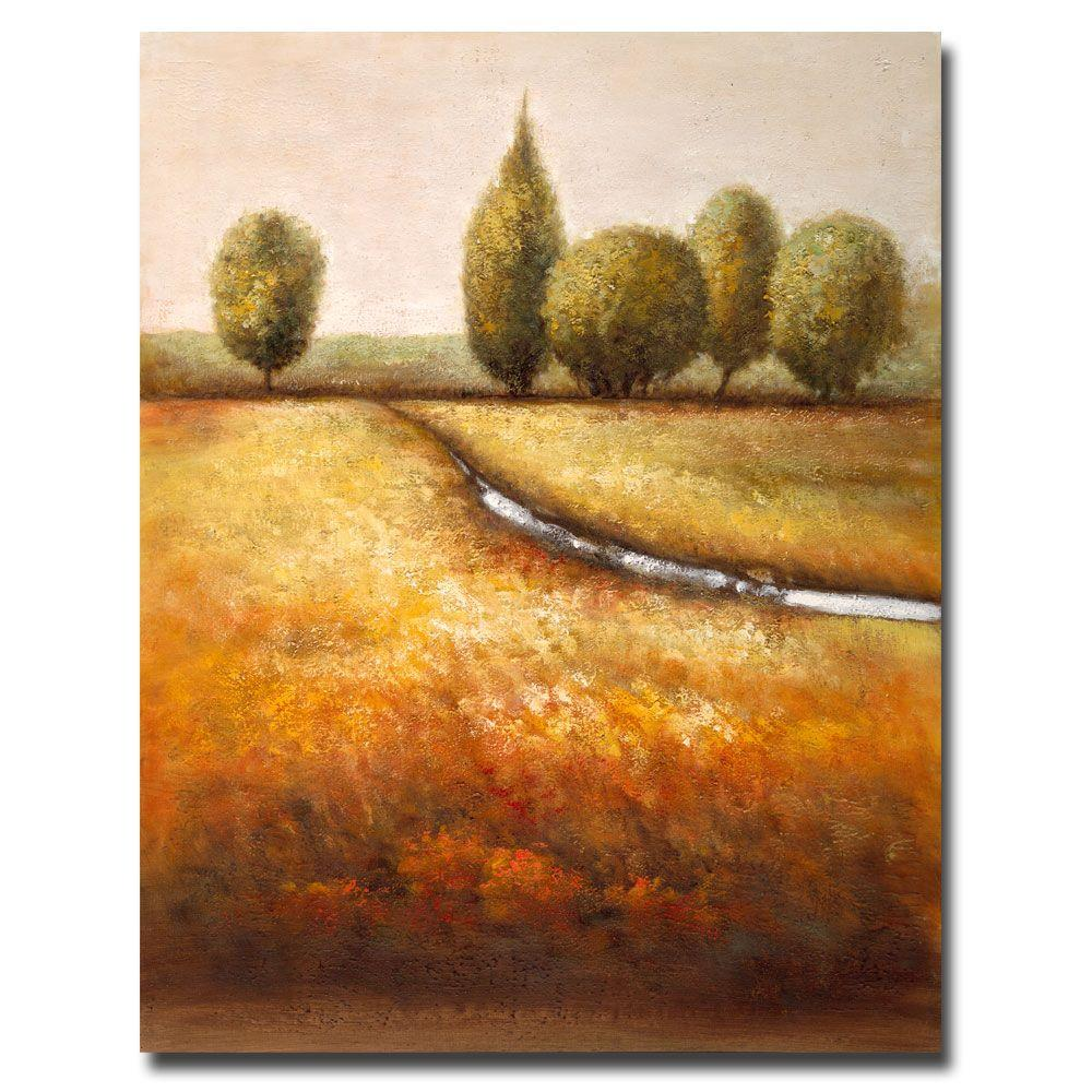 "18 in. x 24 in. ""In the Country"" Canvas Art"