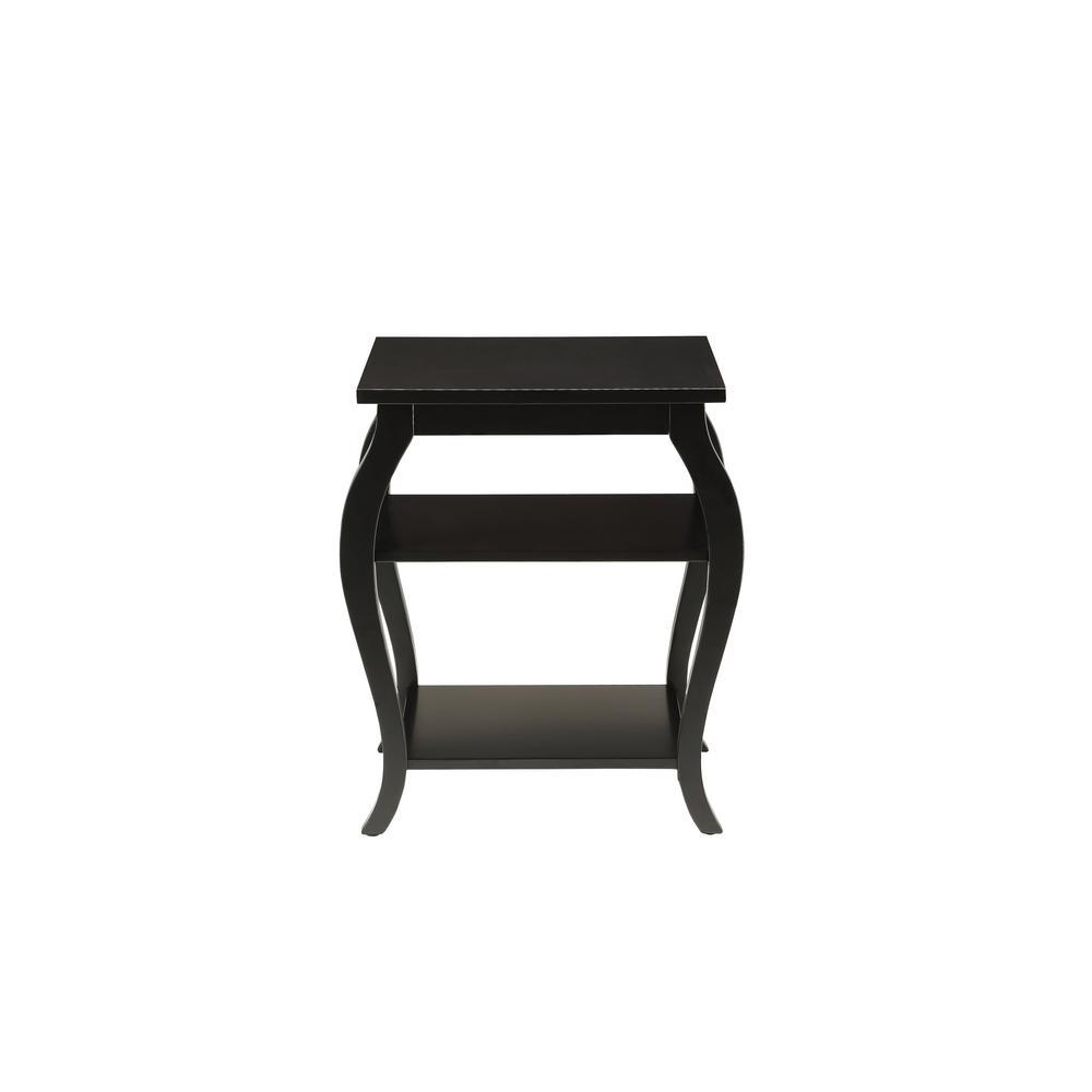 Becci Black End Table