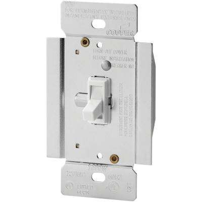 Trace 1000-Watt Dimmer with Combination Single-Pole 3-Way Unit, White