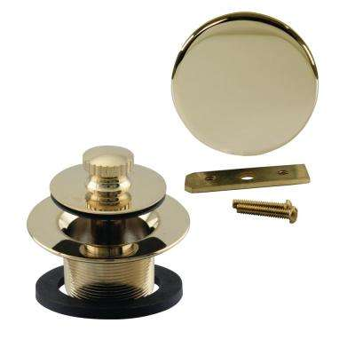 Universal Twist and Close Tub Trim Kit in Polished Brass