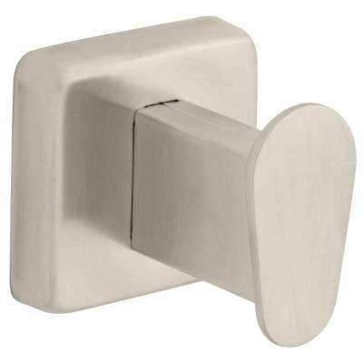 Century Single Towel Hook in Satin Stainless