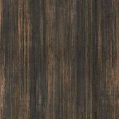 5 ft. x 12 ft. Laminate Sheet in Bronzed Steel with Matte