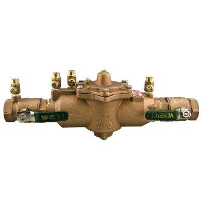 1 in. FPT x FPT Bronze Reduce Pressure Zone Assembly Backflow Preventer