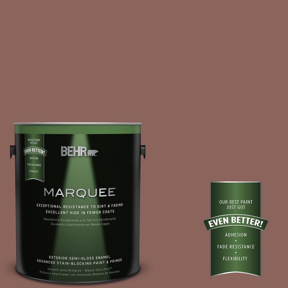 1-gal. #BXC-52 Natural Copper Semi-Gloss Enamel Exterior Paint