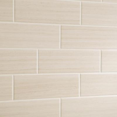 Developed by Nature Chenille 4 in. x 12 in. Ceramic Wall Tile (10.64 sq. ft. / case)