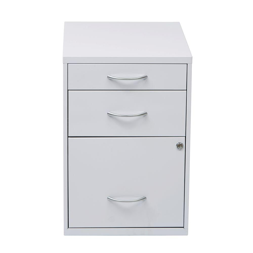 Osp Home Furnishings White File Cabinet