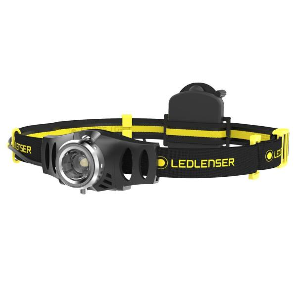 iH3 Industrial 120 (adjustable to 5) Lumen Headlamp with Advanced Focus System Designed in Germany