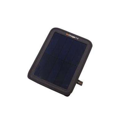 GoCharger 7.5-Watt Monocrystalline Portable Solar Panel