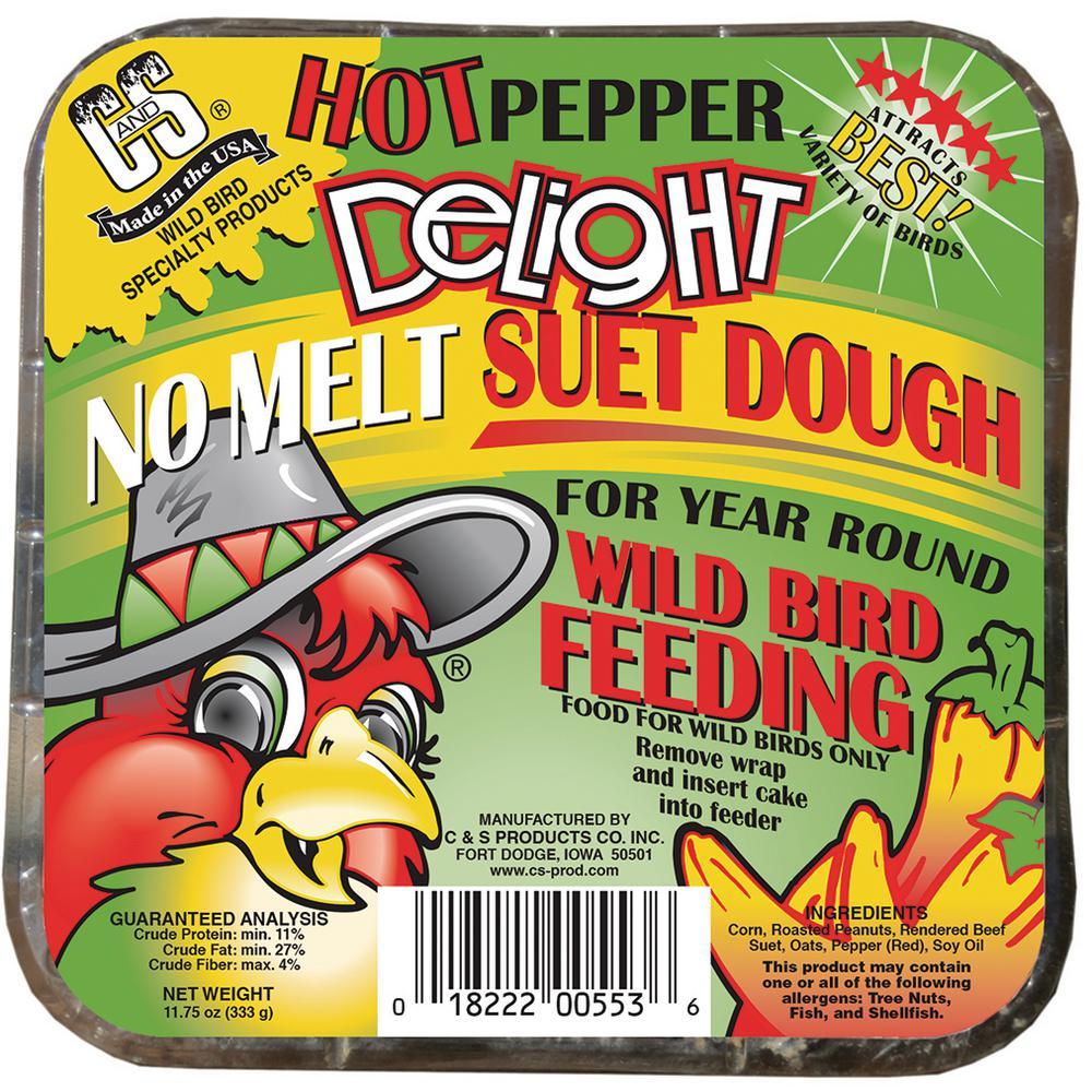 Hot Pepper Delight 0.7 lb. Wild Bird Suet