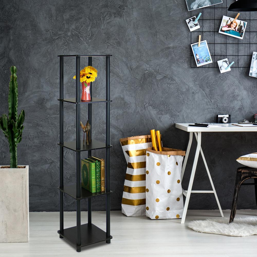Louis Philippe Open Bookcase: Home Decorators Collection Louis Philippe Modular Black