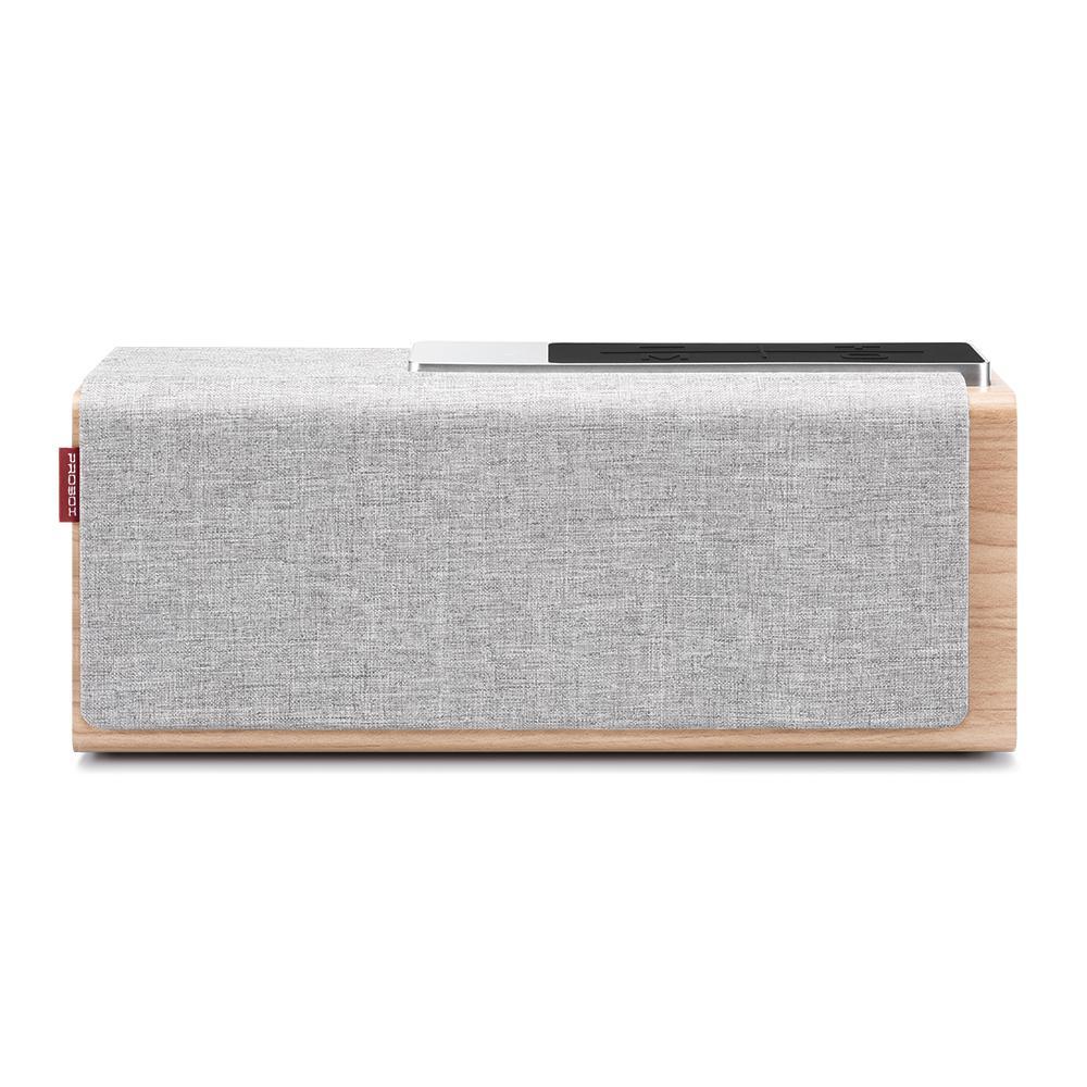 ProBox Teana Wood Wireless Bluetooth Speaker in Gray