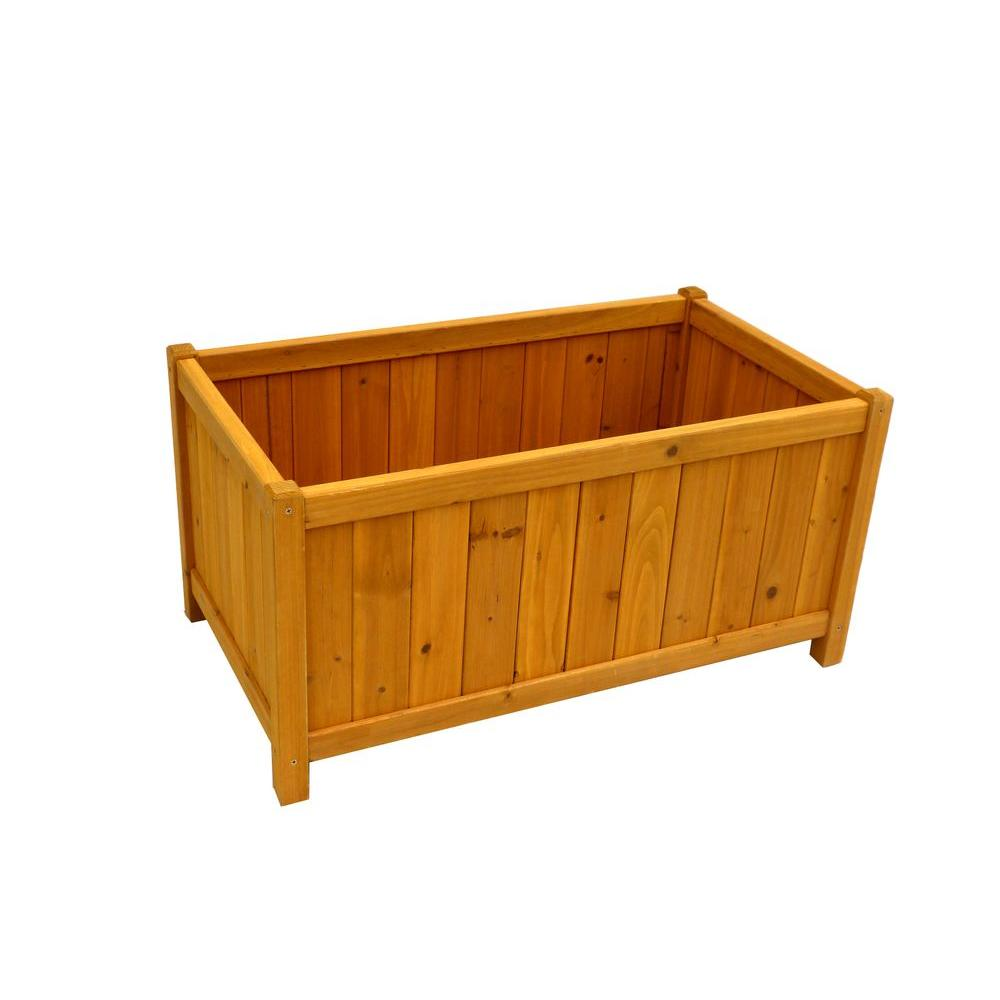 32 in. x 18 in. Cedar Planter Box