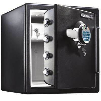 1.23 cu. ft. Fireproof Safe and Waterproof Safe with Biometric Lock