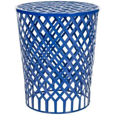 Thor Dark Blue End Table