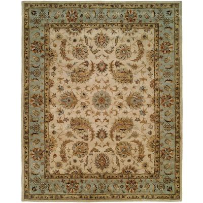 Empire Ivory 9 ft. x 12 ft. Area Rug