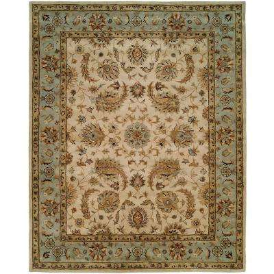 Empire Ivory 8 ft. x 8 ft. Round Area Rug