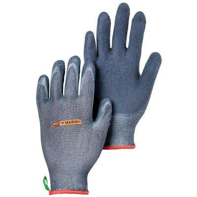Large Indigo Garden Denim Dip Gardening Gloves