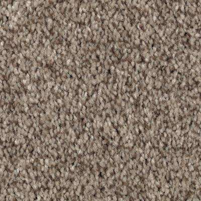 Carpet Sample - Jump Street - Color Patina Texture 8 in. x 8 in.