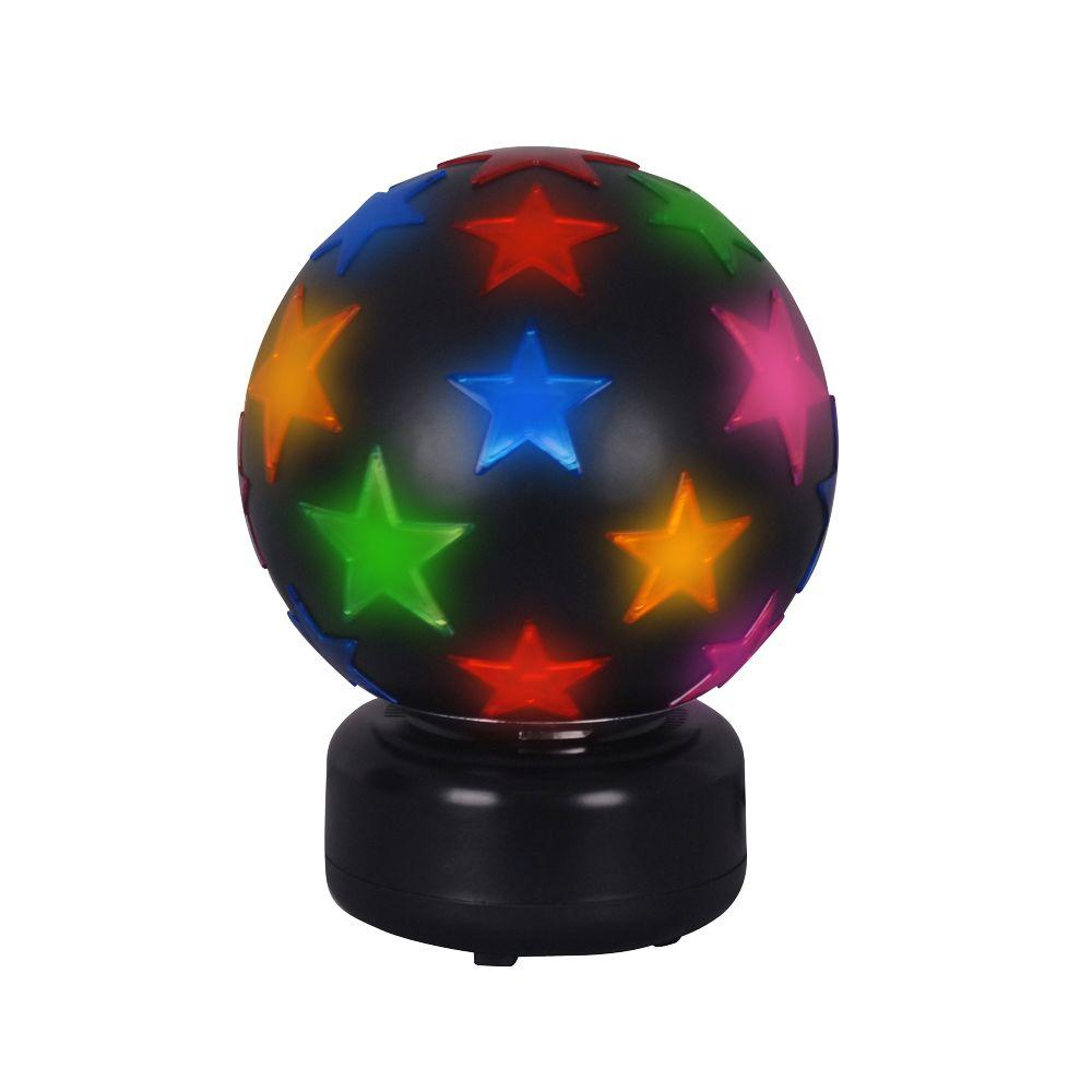 Alsy 11 in. Black Rotating Disco Ball Lamp-DISCONTINUED
