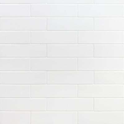 Ivy Hill Tile Vintage White 2 5 In X 9 In X 10 Mm Ceramic Wall Tile 42 Piece 6 32 Sq Ft Box Ext3rd104639 The Home Depot