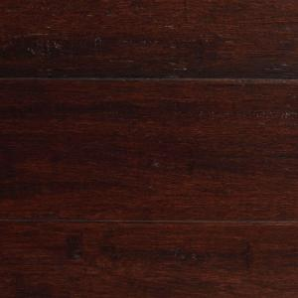 Home Decorators Collection Hand Scraped Strand Woven Dark Mahogany 3 8 In T X 5 1 8 In W X 36
