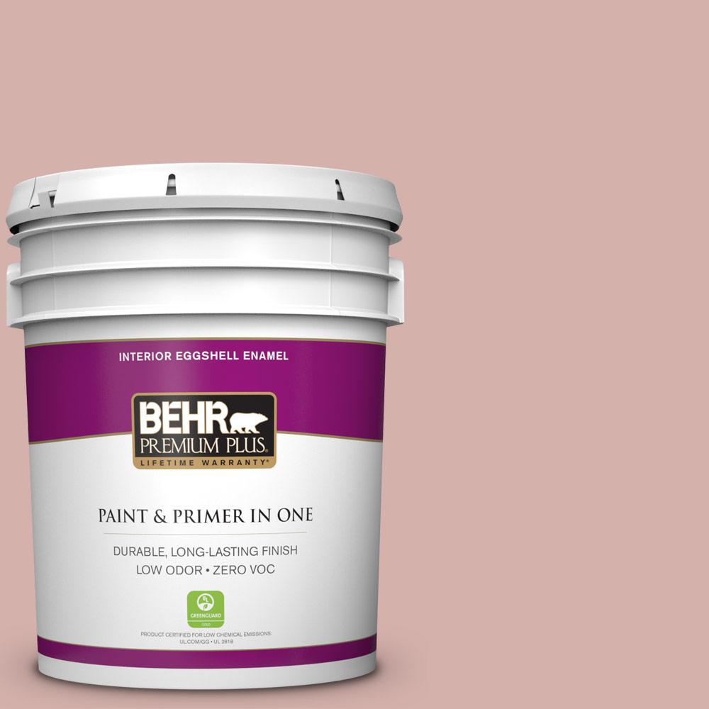 BEHR Premium Plus 5-gal. #S170-3 Castilian Pink Eggshell Enamel Interior Paint