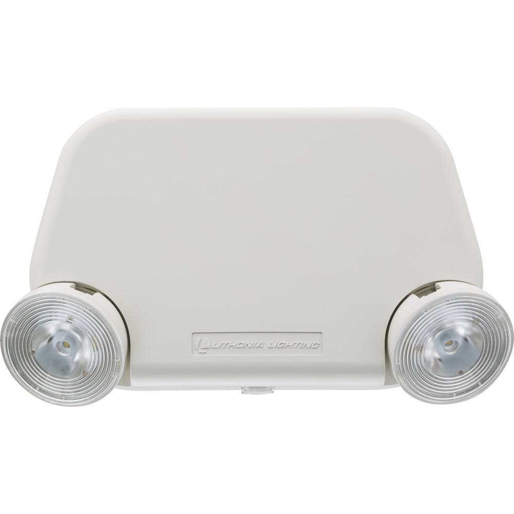 Contractor Select EU2L Series 120/277-Volt Integrated LED Emergency Light Fixture W/ 3.6V Battery