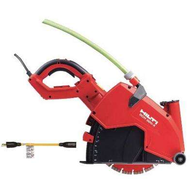 DCH 300-X 12 in. Electric Hand Held Diamond Saw Kit with EQD SPX Universal Blade and Twist Lock