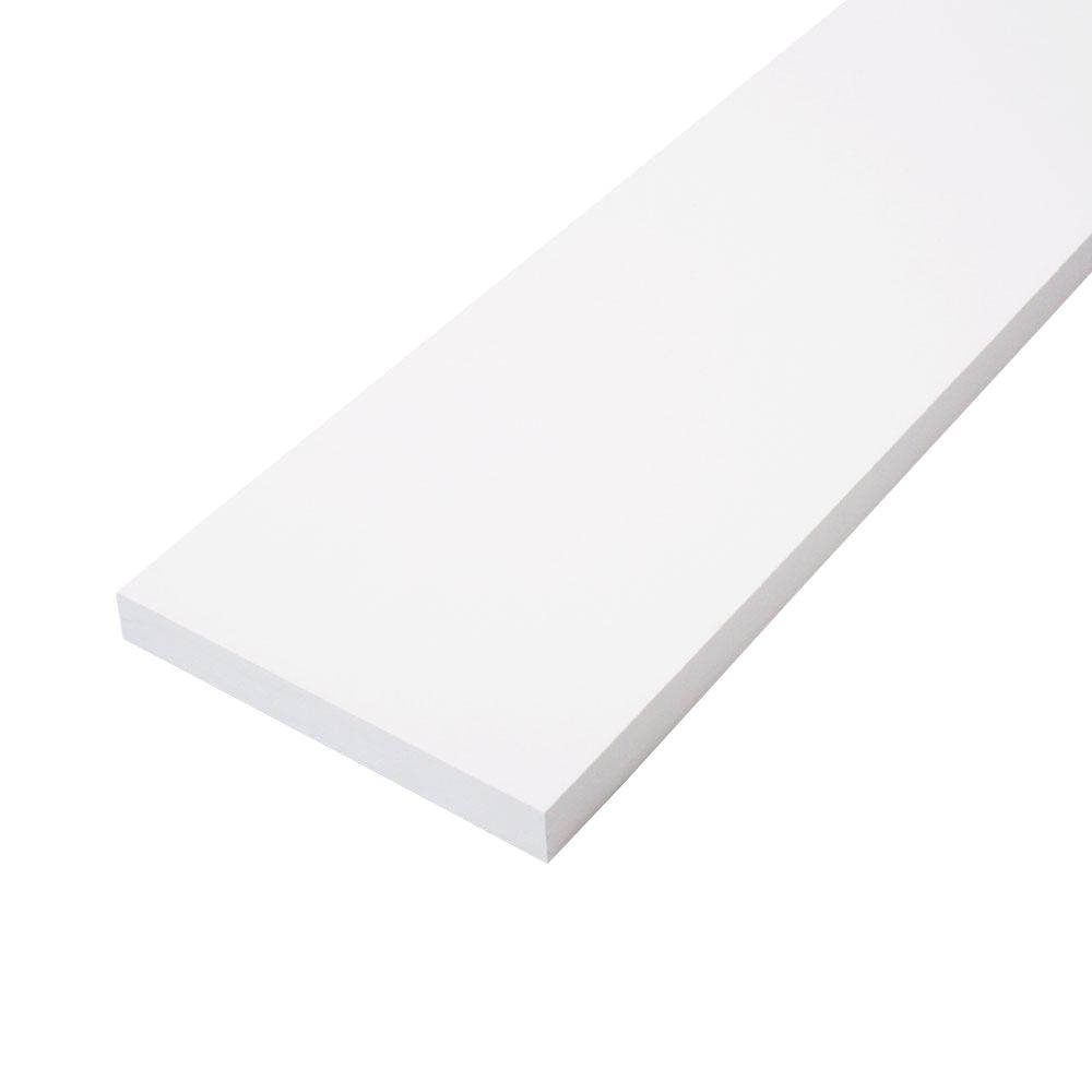 CMPC 1 in. x 6 in. x 8 ft. Primed Finger-Joint Pine Trim Board (Actual Size: 0.719 in. x 5.5 in. x 96 in.) (6-Piece Per Box)
