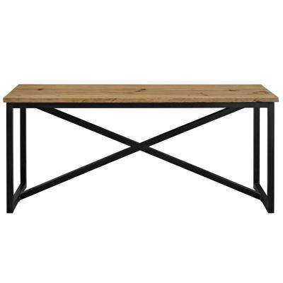 Traverse Brown Wood Stand