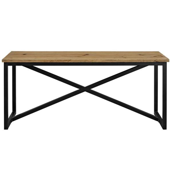 MODWAY Traverse Brown Wood Stand
