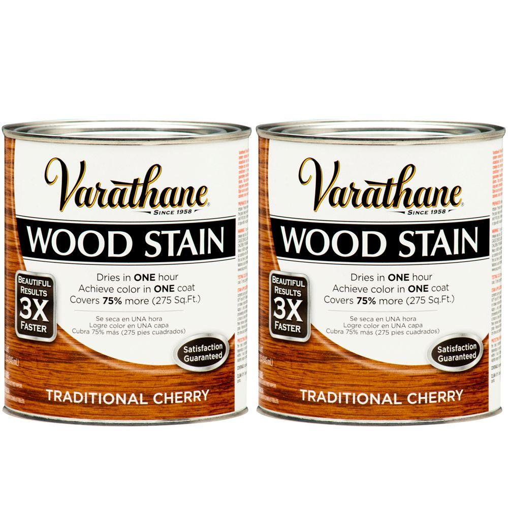 Varathane 1 Qt. Traditional Cherry Wood Stain (2-Pack)-DISCONTINUED