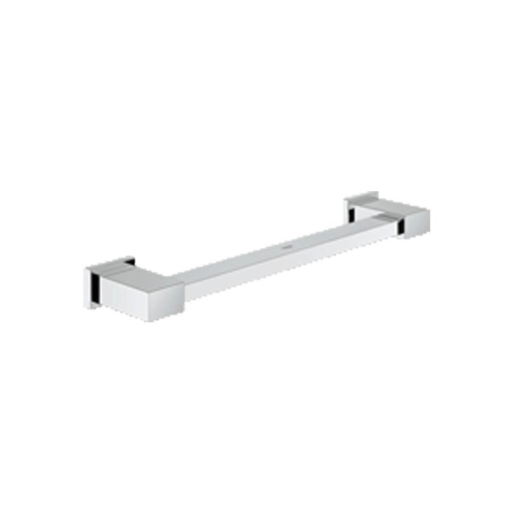 Essentials Cube 12 in. Concealed Screw Grab Bar in StarLight Chrome