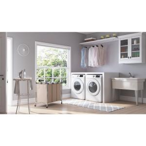 Samsung 7 5 cu  ft  Electric Dryer in White