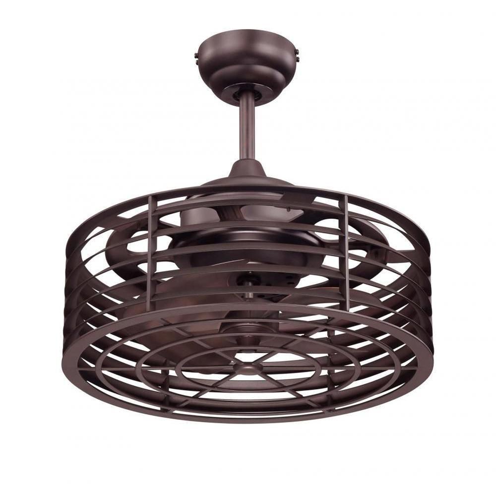 Payne 14 in. English Bronze Indoor/Outdoor Ceiling Fan