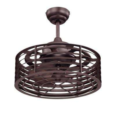 Payne 14 in. English Bronze Indoor/Outdoor Ceiling Fan