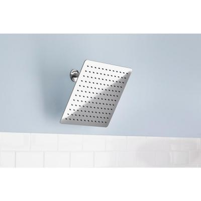 Modern 1-Spray 12 in. Single Ceiling Mount  Fixed Shower Head in Chrome