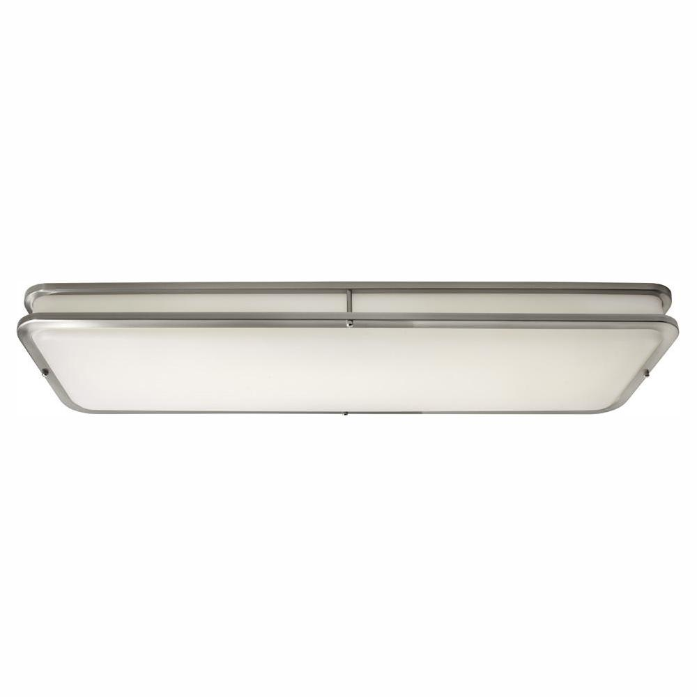 Hampton Bay 96 Watt Brushed Nickel