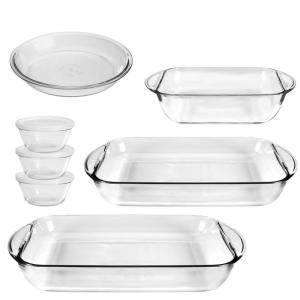 Click here to buy Anchor Anchor 10-Piece Clear Bakeware Set by Anchor.