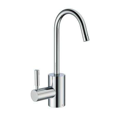 Single-Handle Instant Hot Water Dispenser in Polished Chrome