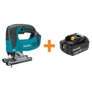 18-Volt LXT Lithium-Ion Brushless Cordless Jig Saw (Tool-Only) with Bonus 4.0 Ah Battery