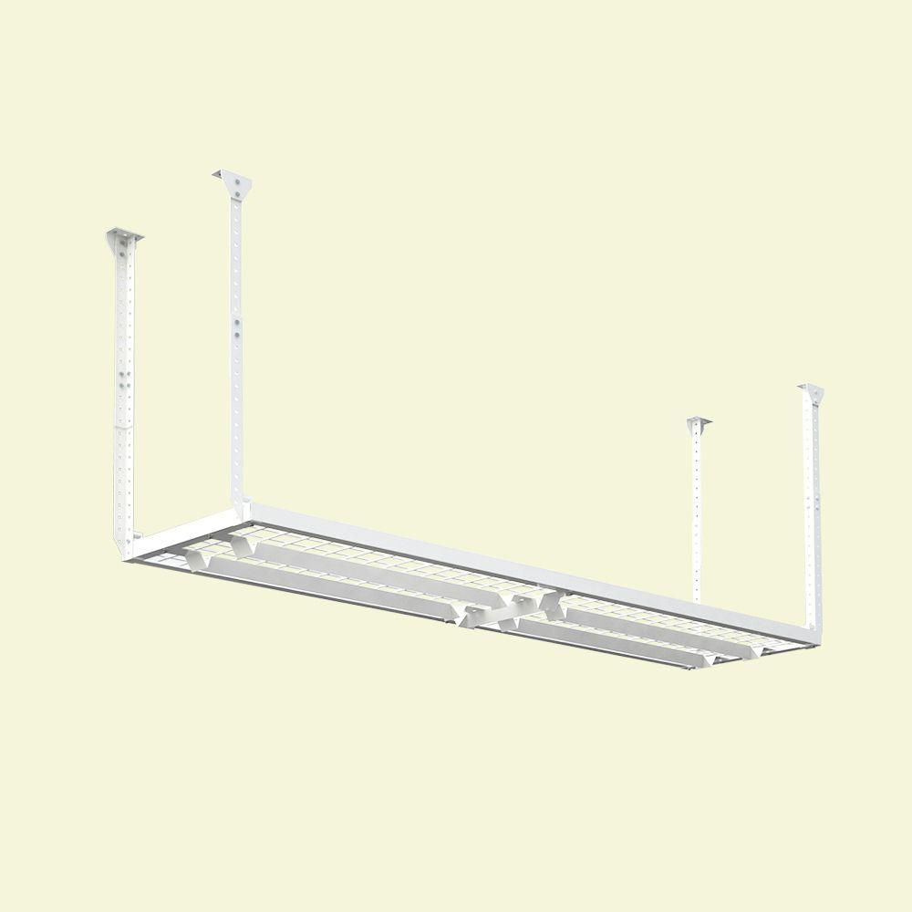 D Adjustable Height Garage Ceiling Mounted Storage