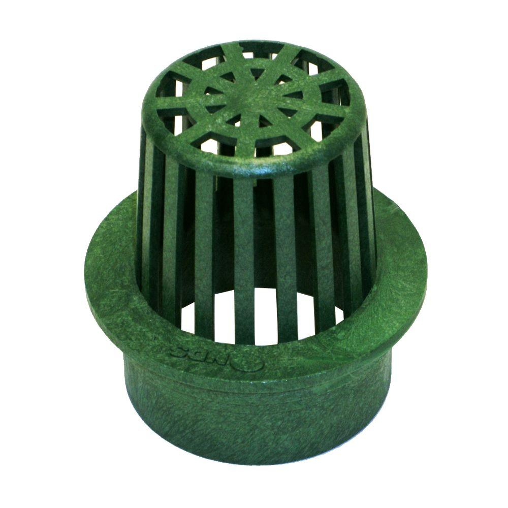 Nds 3 In Round Atrium Grate Green 70 The Home Depot