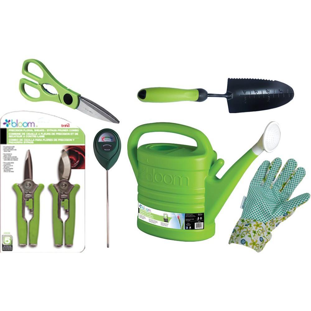 Bond manufacturing bloom indoor houseplant kit in green 6 for Indoor gardening kit green toys
