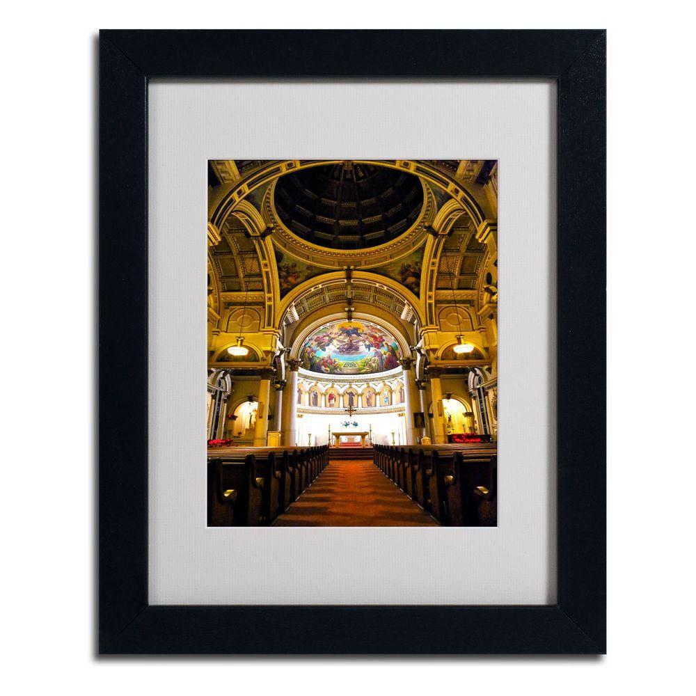 Trademark Fine Art 11 in. x 14 in. St. Leonards Matted Framed Art