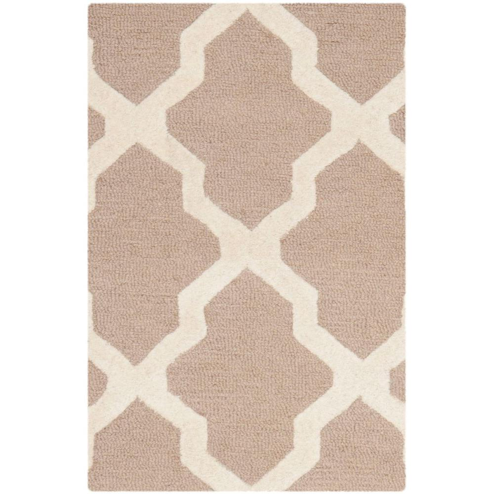 Cambridge Beige/Ivory 3 ft. x 5 ft. Area Rug