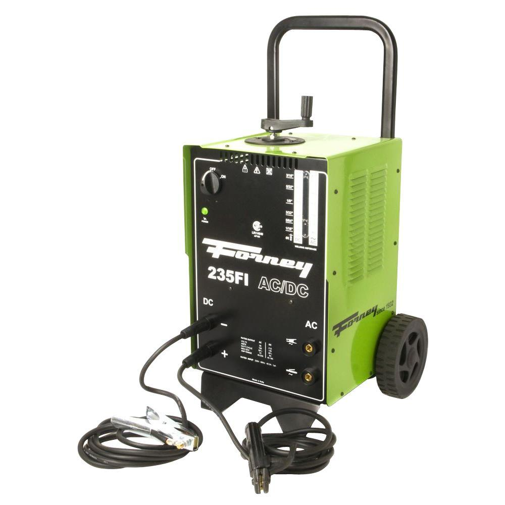 Sensational Forney 230 Volt 230 Amp 235Fi Ac Dc Arc Welder 314 The Home Depot Wiring Digital Resources Indicompassionincorg