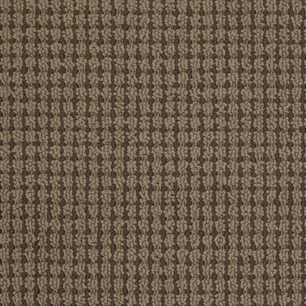 Martha Stewart Living Gloucester Hill - Color Molasses 6 in. x 9 in. Take Home Carpet Sample