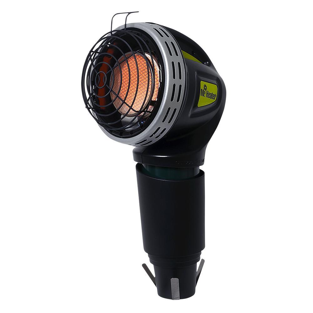 Mr Heater 4,000 BTU Radiant Propane Golf Cart Heater, Blacks
